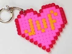 Little Presents, Little Gifts, Diy And Crafts, Crafts For Kids, Arts And Crafts, Presents For Teachers, Crafty Kids, Homemade Gifts, Perler Beads
