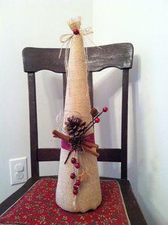 Burlap Tree on Etsy, $20.00