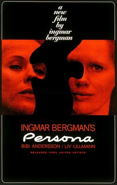 Persona (1966) 16 80 min  -  Drama | Mystery | Thriller  -  18 October 1966 (Sweden) 8.1 Your rating:  10/10   Ratings: 8.1/10 from 34,183 users    Reviews: 146 user | 77 critic A nurse is put in charge of an actress who can't talk and finds that the actress's persona is melding with hers.  Director: Ingmar Bergman Writer: Ingmar Bergman (story) Stars: Bibi Andersson, Liv Ullmann, Margaretha Krook | See full cast and crew