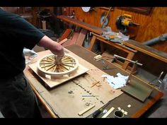 How To Make Wooden Wheels With Bicycle Rims And Tyres - YouTube