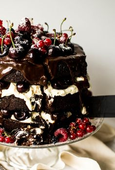 Black Forest Gateau | butter and brioche