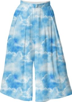 Cloud Culottes - Available Here: http://printallover.me/products/0000000p-cloud-43
