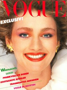 Vogue Germany Cover December 1980-