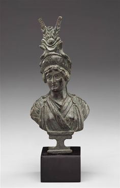 Roman Bust of an Empress as Isis. Bronze - Early 1st century A.D. |  The Detroit Institute of Arts.