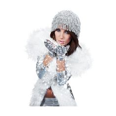 Pascale_081210_photos_winter_woman.png ❤ liked on Polyvore featuring christmas and winter