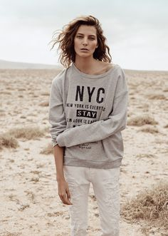 mango spring 2014 campaign1 First Look | Daria Werbowy for Mango Spring/Summer 2014 Campaign