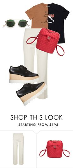"""Untitled #676"" by zaraoutfits ❤ liked on Polyvore featuring The Row, Chanel, STELLA McCARTNEY and Acne Studios"