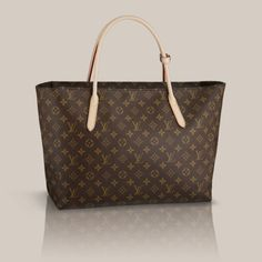 Raspail MM Monogram Canvas The elegant shape and style of the Raspail MM in Monogram canvas reveals a highly efficient tote bag. Whether carried open or zipped up, few other bags are as well suited to practical, everyday use.$1410