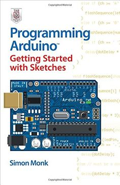 "Clear, easy-to-follow examples show you how to program #Arduino with ease! ""#Programming Arduino: Getting Started with #Sketches"" helps you understand the software side of Arduino and explains how to write well-crafted Sketches (the name given to Arduino programs) using the #C language of Arduino. This practical guide offers an unintimidating, concise approach for non-programmers that will get you up and running right away."