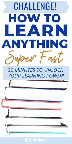 Think fast learning is only for super smart people? In just 30 minutes, you can learn the secret simple technique to learn ANYTHING you want super fast! This is the brain hack you've been looking for! Take the FREE fast track class! #learning #brainhack #brainpower #study