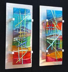 Resultado de imagen para glass wall art