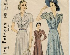 1930s casual dresses - Google Search