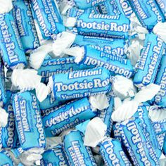 Vanilla Tootsie Rolls: I have no control when it comes to these!!!