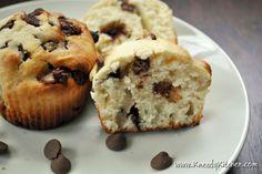 Kneady Kitchen - Chocolate Chip Muffins