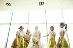 Barong-inspired tops Filipiniana Wedding Theme, Filipiniana Dress, Barong, Entourage, Bridesmaid Dresses, Wedding Dresses, Pinoy, Big Day, Tulle