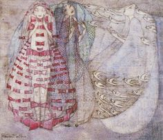 Bows, Beads, and Birds by Frances MacDonald MacNair