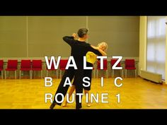 How To Dance Waltz - Basic Routines 10 - YouTube