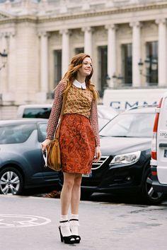 Vanessa Jackman: Paris Fashion Week SS 2013....Stephanie