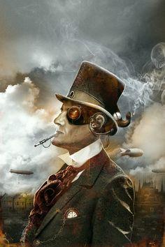 steampunk illustration | Tumblr