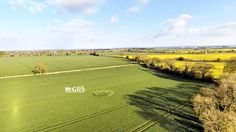 Crop Circle at Macmillian Way, Nr Tarlton, Gloucestershire. United Kingdom. Reported 19th April 2015