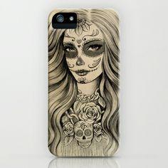 Sugar Skull iPhone & iPod Case by Vivian Lau - $35.00