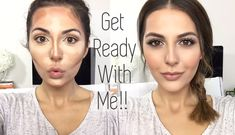 Get Ready With Me   Hair, Makeup & Outfit
