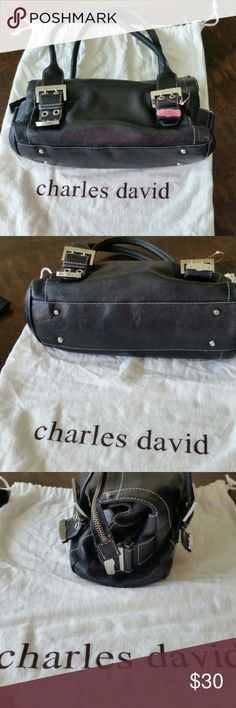 Charles David top handle bag Gently used Charles David Bags Satchels