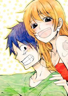 One Piece Drawing, Nami One Piece, One Piece Pictures, One Piece Images, Luffy X Nami, One Piece Fanart, Son Goku, Nalu, Dbz