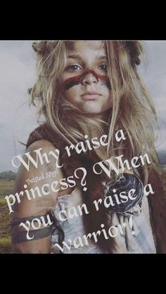 "Because girls can be what they wanna be and while girls can be warriors if they want to feminism is about choice and they should absolutely be allowed to choose. Who cares if a girl wants to be a ""girly girl"" or not? It's still her choice. Girls can be warriors, princesses, or both."