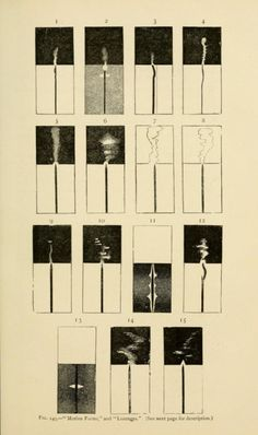Fig. 149. Shapes of solar prominences. Contribution to solar physics. 1874.