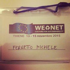 #wenet today we are in Thiene oggi siamo a Thiene #