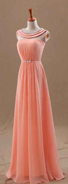 coral formal dress, formal dress