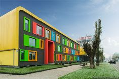 Comfort Town - colorful city project in Kyiv, Ukraine