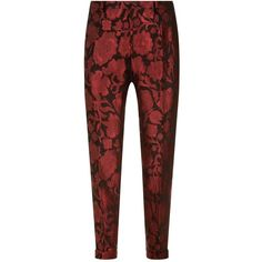Dolce & Gabbana Floral Jacquard Trousers ($1,220) ❤ liked on Polyvore featuring men's fashion, men's clothing, men's pants, men's casual pants, dolce gabbana mens pants, mens floral pants, mens adjustable waist pants and mens floral print pants