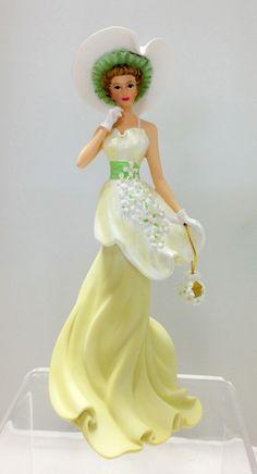 Thomas Kinkade Lady Figurines   click to enlarge