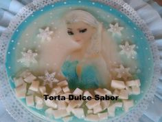 Gelatina de Frozen  Gelatina de Elsa