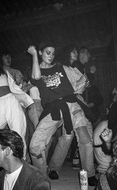 Liz, 1980s (Photograph: Gavin Watson)