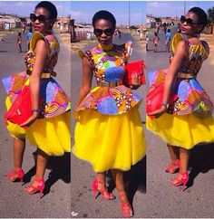 Top Ten Stylish, Beautiful, Trendy And Unique Ankara Styles You Can Rock This Season - Dabonke : Nigeria Latest Gist and Fashion 2019 African Traditional Wedding Dress, Traditional Wedding Attire, African Wedding Dress, African Print Dresses, African Print Fashion, African Fashion Dresses, African Dress, Traditional Outfits, Traditional Ideas