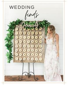 Wedding Signs, Wedding Favors, Our Wedding, Table Wedding, Wedding Ideas, Wedding Cake Display, Dream Wedding, Summer Wedding, Donut Bar