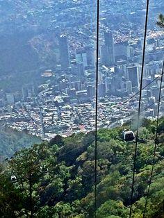 Teleférico em Caracas