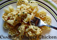 Table for 7: {Crock Pot} Cheesy Chicken