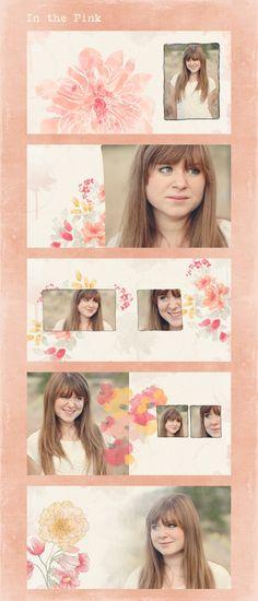 In the Pink Custom Photo Book Design Sample