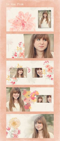 In the Pink Custom Photo Book Design Sample