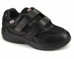 Apis Mt. Emey Answer2 553-1 Men's Therapeutic Diabetic Orthopedic Extra Depth Shoe Leather-and-Mesh Velcro 14 E Velcro US Men Apis. $89.95
