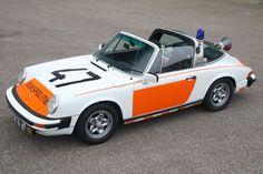 Dutch Police Porsche 911 2.7 Targa 1977