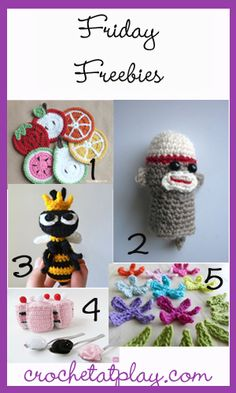 FridayFreebies 4-12-13 - Featuring Wee Blooms on a String found at FeltedButton.com
