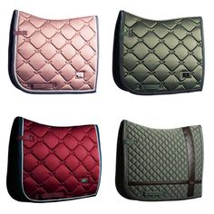 How gorgeous are our spring colors?! ✨Got yourself a favorite? 1: Pink Pearl 2: Spring Olive 3: Burgundy 4: No Boundaries Olive #equestrian #equestrianstockholm #horse #equestrianperformance