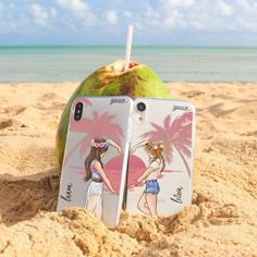 Life was meant for good friends and great adventures. Tag your BFF 🌴👯 Life was meant for good friends and great adventures. Tag your BFF 🌴👯 Bff Cases, Cute Cases, Cute Phone Cases, Iphone Phone Cases, Samsung Cases, Matching Phone Cases, Best Friend Drawings, Bff Drawings, Friends Phone Case