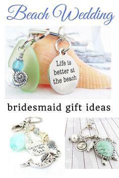 beach wedding favors, bridesmaid favors