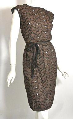 60s dress vintage clothing